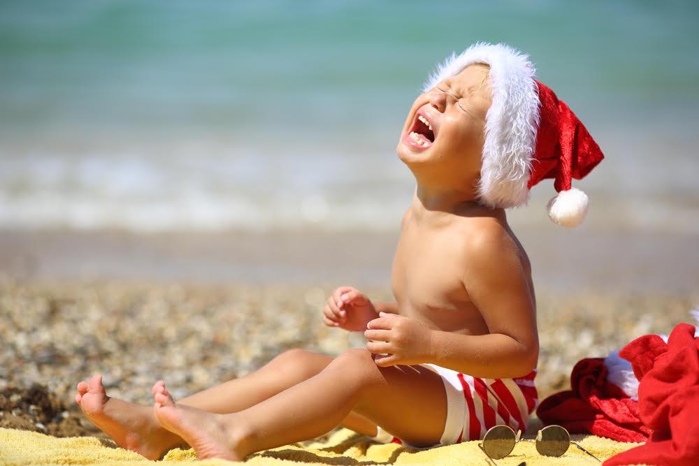 Toddler Tantrum at Christmas
